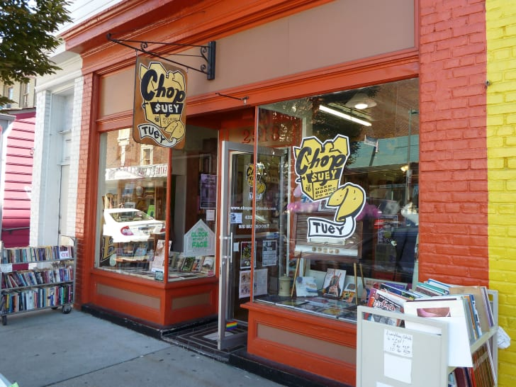 Chop Suey Books in Richmond, Virginia