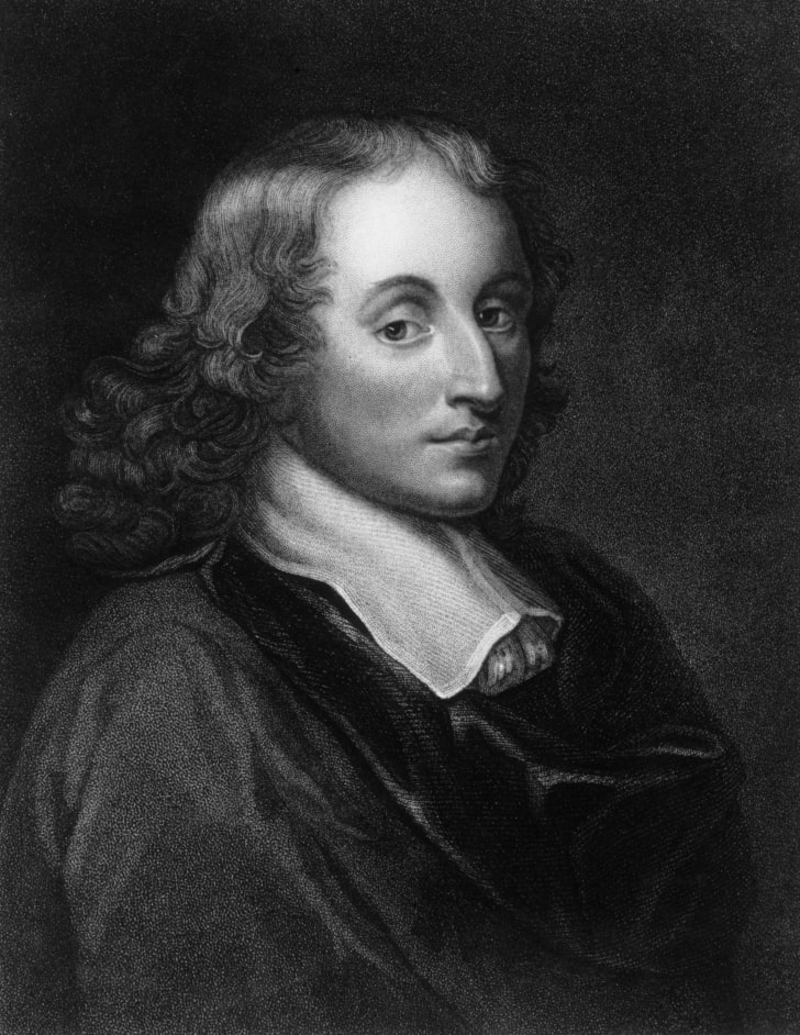 French mathematician and religious philosopher Blaise Pascal.