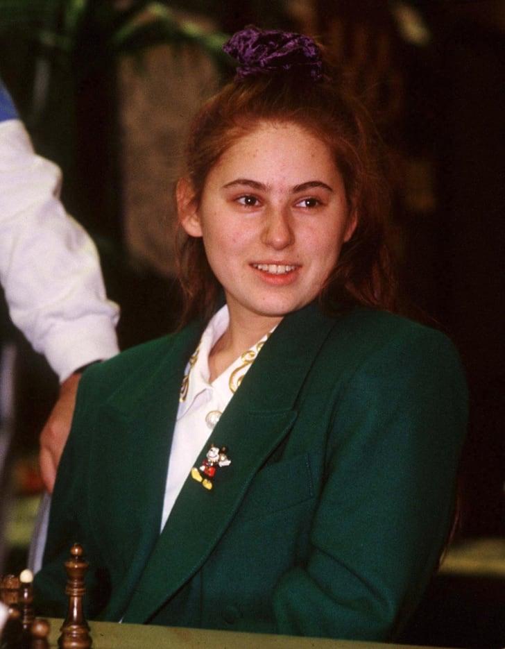 Judit Polgar in 1993 at age 17.