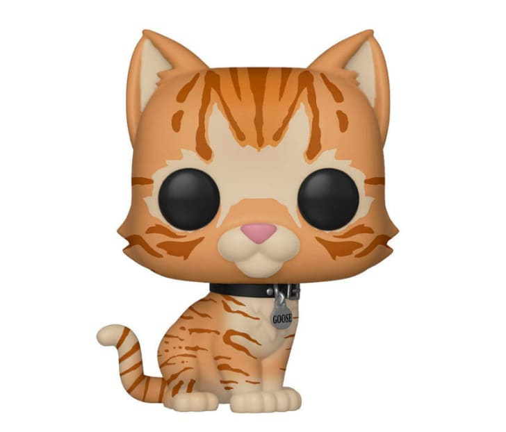 A Funko Pop! vinyl figure of Goose the cat from 'Captain Marvel'