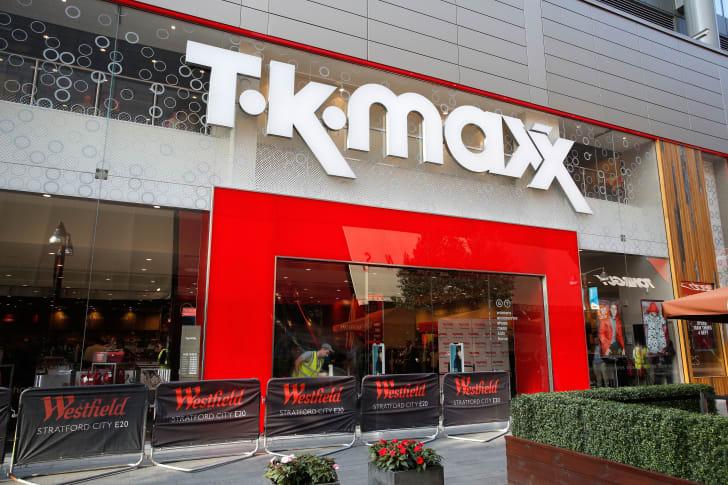 A TK Maxx in London