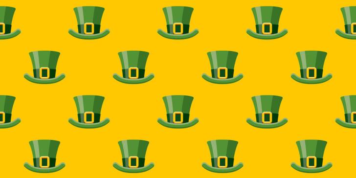 Irish leprechaun hat pattern