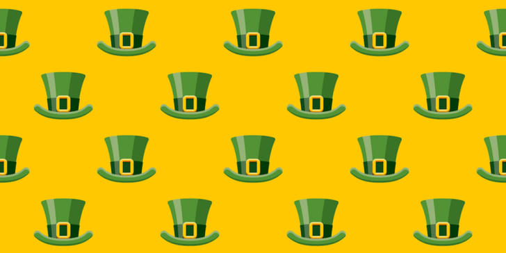 Irish leprechaun hat pattern