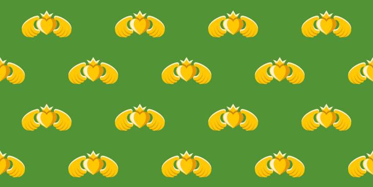 Claddagh pattern