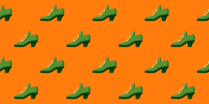 Irish shoe pattern