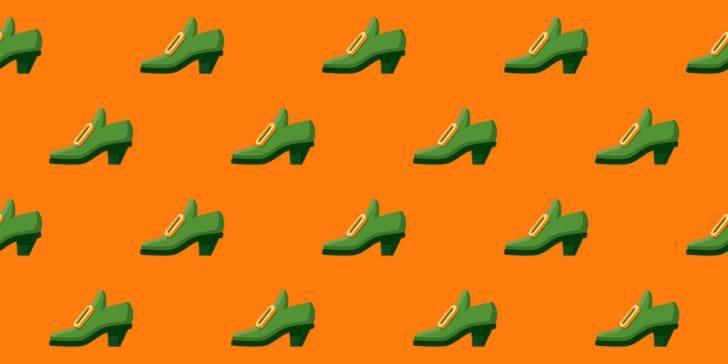 Irish shoe pattern