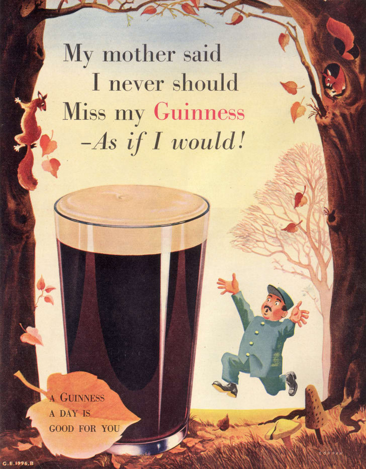A 1952 Guinness ad.