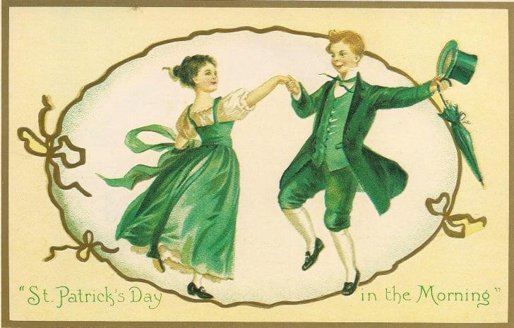 Vintage St. Patrick's Day postcard.