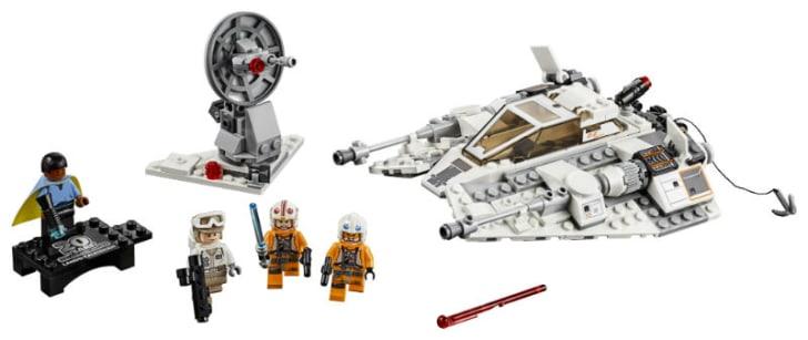 A LEGO 'Star Wars' Snowspeeder set is pictured
