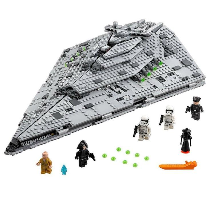 A LEGO 'Star Wars' First Order Star Destroyer set is pictured