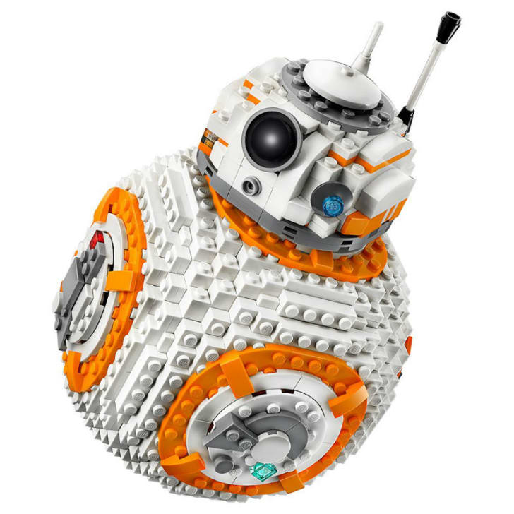 A LEGO 'Star Wars' BB-8 set is pictured