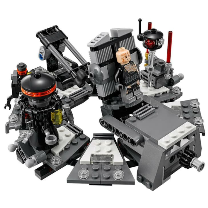 A LEGO 'Star Wars' Darth Vader Transformation set is pictured
