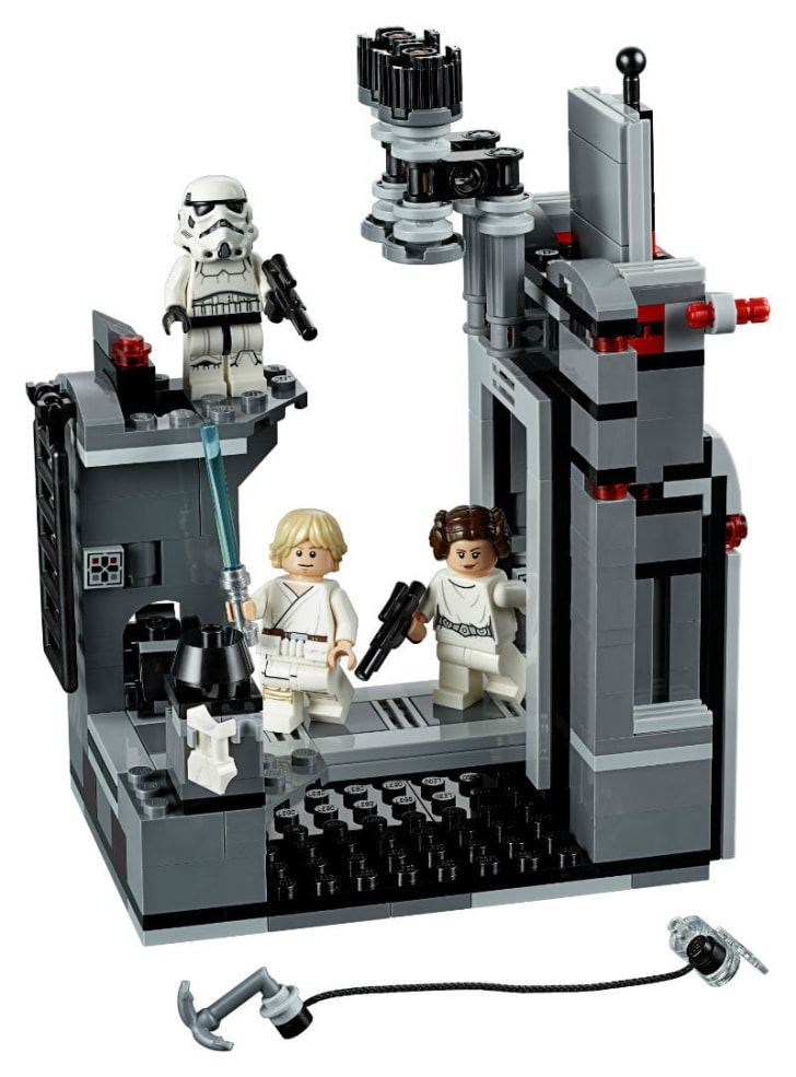 A LEGO 'Star Wars' Death Star Escape set is pictured