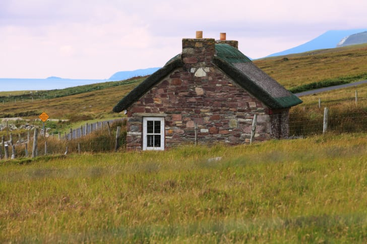 Old Homestead in Ireland