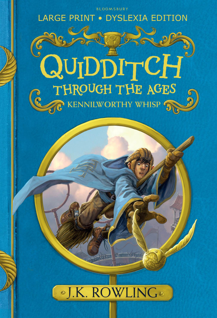 A cover of 'Quidditch Through the Ages'
