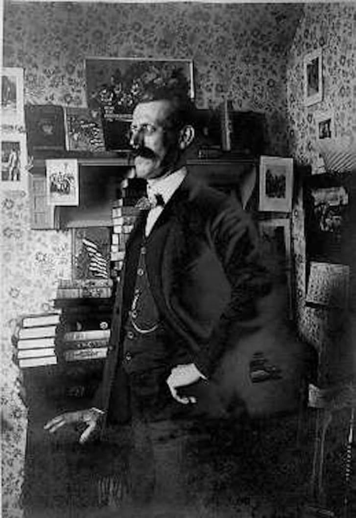 Portrait of Edward Stratemeyer from the Stratemeyer Syndicate