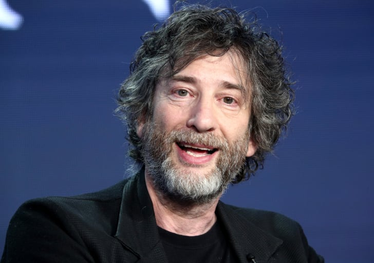 Neil Gaiman of the television show 'Good Omens' speaks during the Amazon Prime Video Session of the 2019 Winter Television Critics Association Press Tour at The Langham Huntington, Pasadena on February 13, 2019 in Pasadena, California