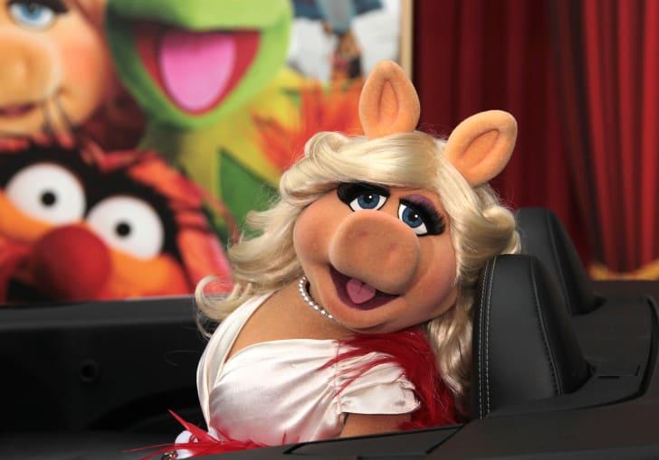 Miss Piggy attends a film premiere in 2011.