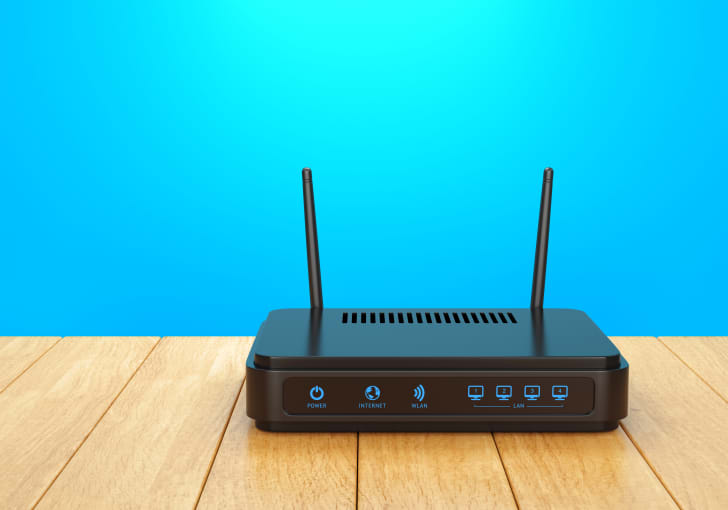 Internet router.