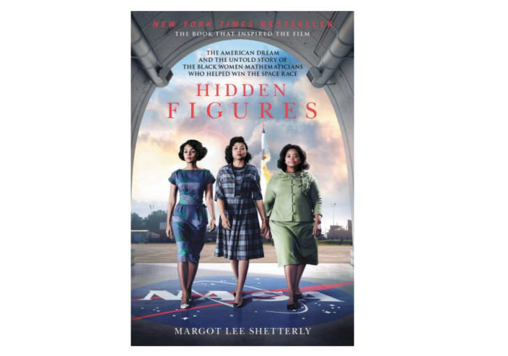 The cover of 'Hidden Figures'