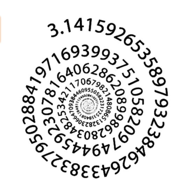 Spiral Pi tattoo