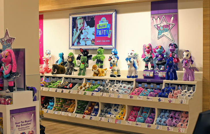 A Build-A-Bear Workshop at Mall of America