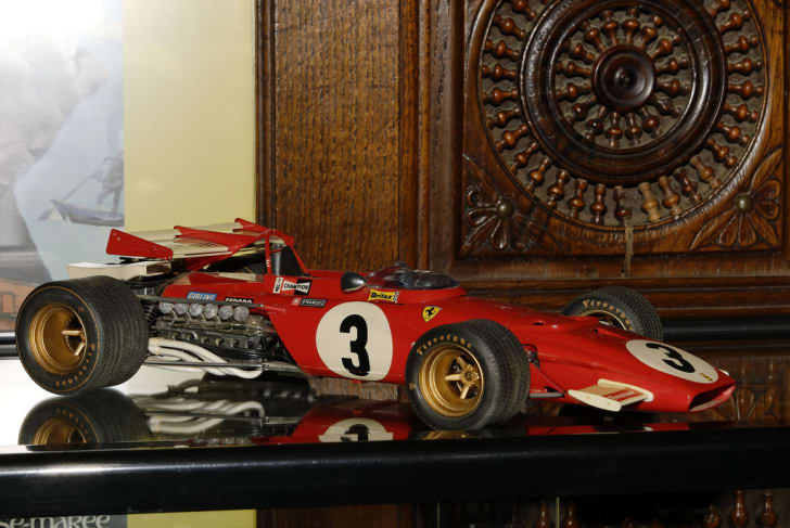 A Ferrari RC toy