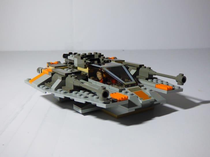 A Star Wars Snowspeeder LEGO set