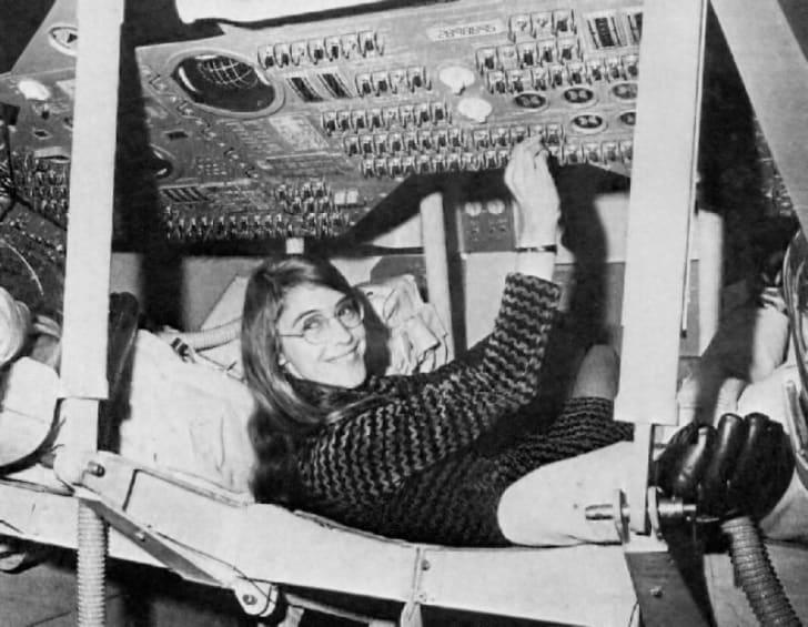 Margaret Hamilton at NASA