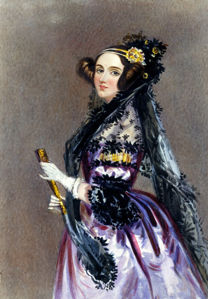 Portrait of Ada Lovelace