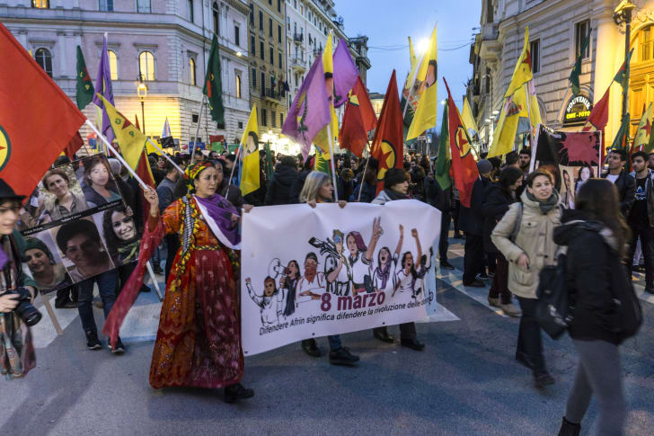 International Women's Day demonstrations in Italy