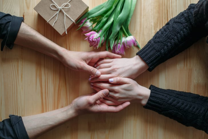 Celebrating International Women's Day with flowers and gifts