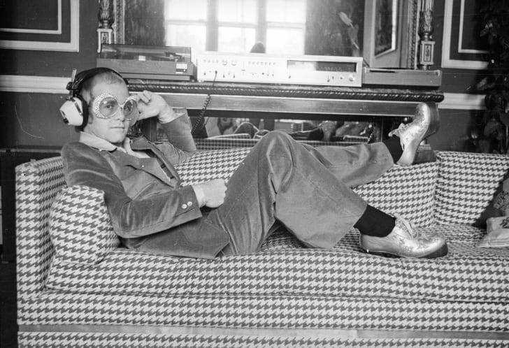 Elton John in September 1974.