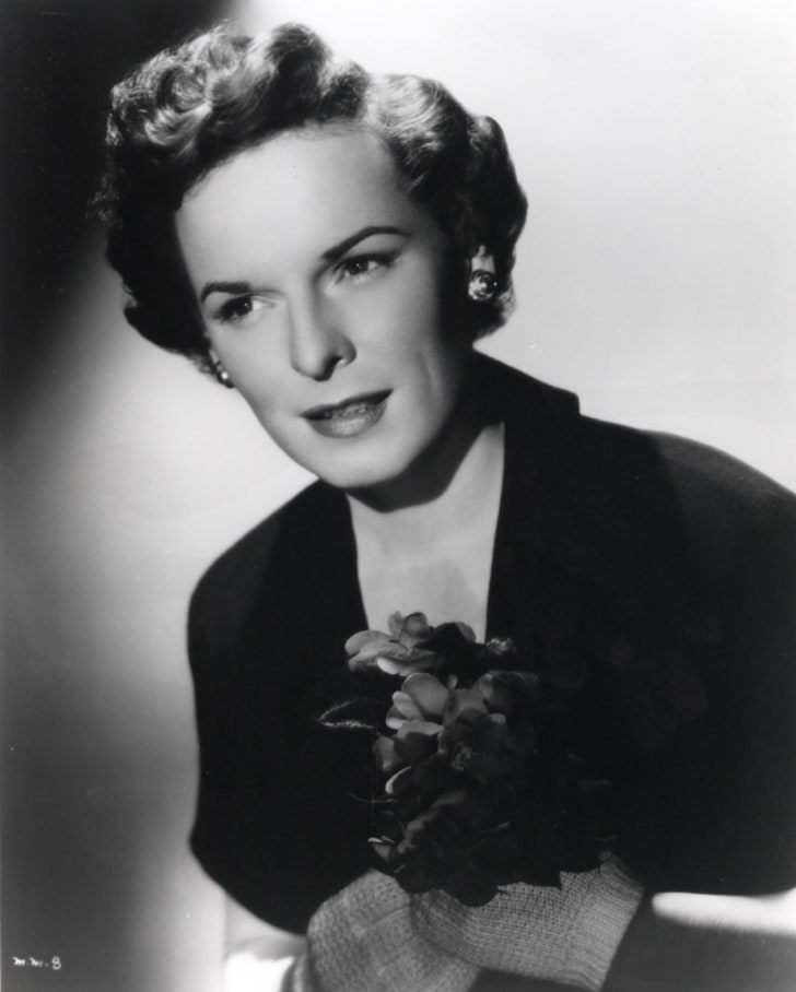 Actress Mercedes McCambridge