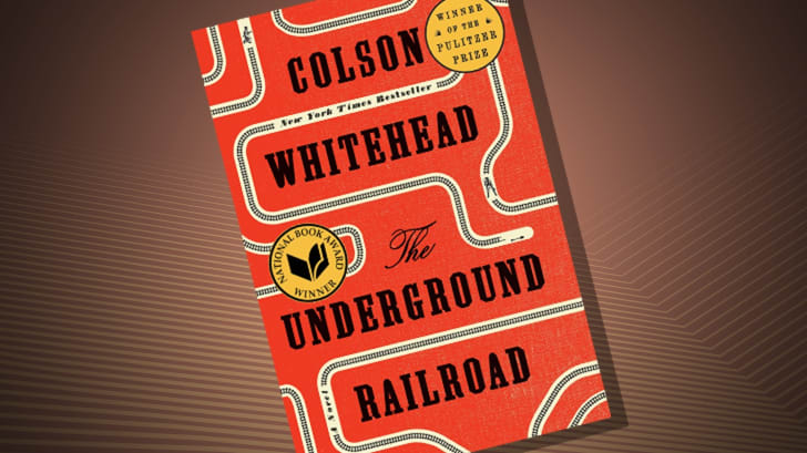 The cover of 'The Underground Railroad' by Colson Whitehead