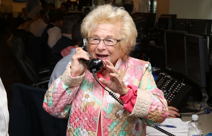 Dr. Ruth Westheimer participates in the annual Charity Day hosted by Cantor Fitzgerald and BGC at Cantor Fitzgerald on September 11, 2015 in New York City.
