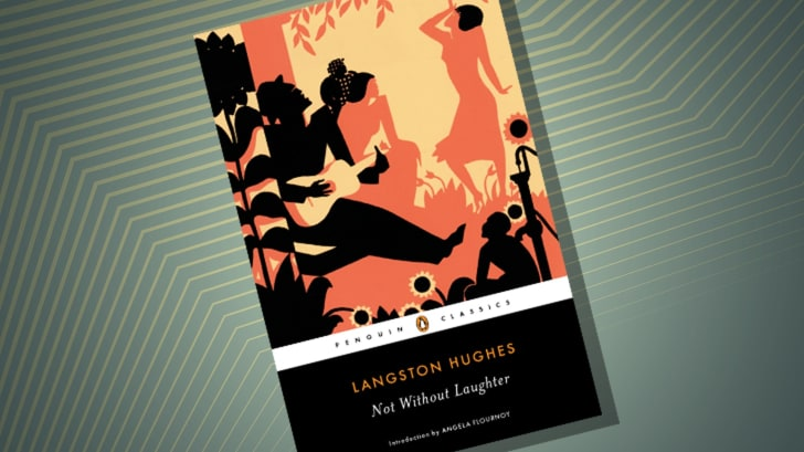 The cover of 'Not Without Laughter' by Langston Hughes