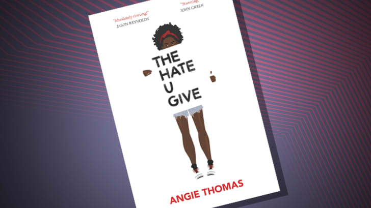 The cover of 'The Hate U Give' by Angie Thomas
