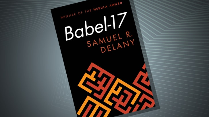 The cover of 'Babel-17' by Samuel R. Delany
