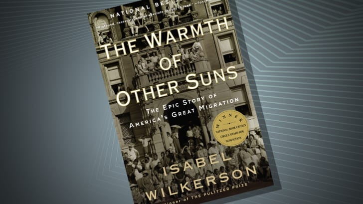 The cover of 'The Warmth of Other Suns' by Isabel Wilkerson