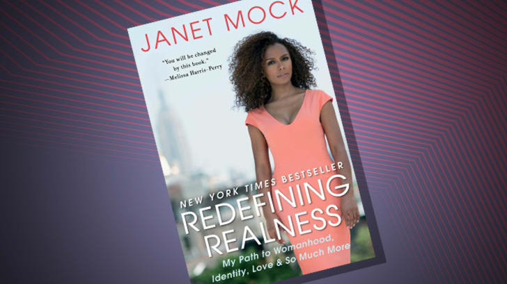 The cover of 'Redefining Realness' by Janet Mock