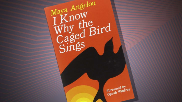 The cover of 'I Know Why the Caged Bird Sings' by Maya Angelou