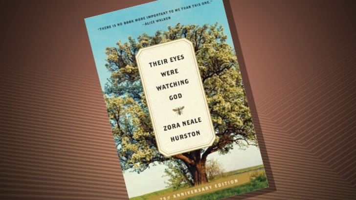 The cover of 'Their Eyes Were Watching God' by Zora Neale Hurston