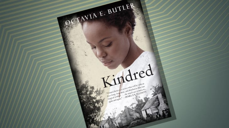 The cover of 'Kindred' by Octavia Butler