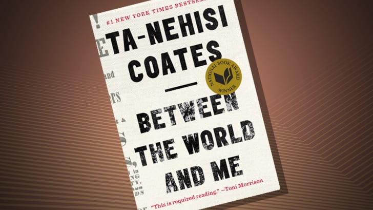 The cover of 'Between the World and Me' by Ta-Nahisi Coates