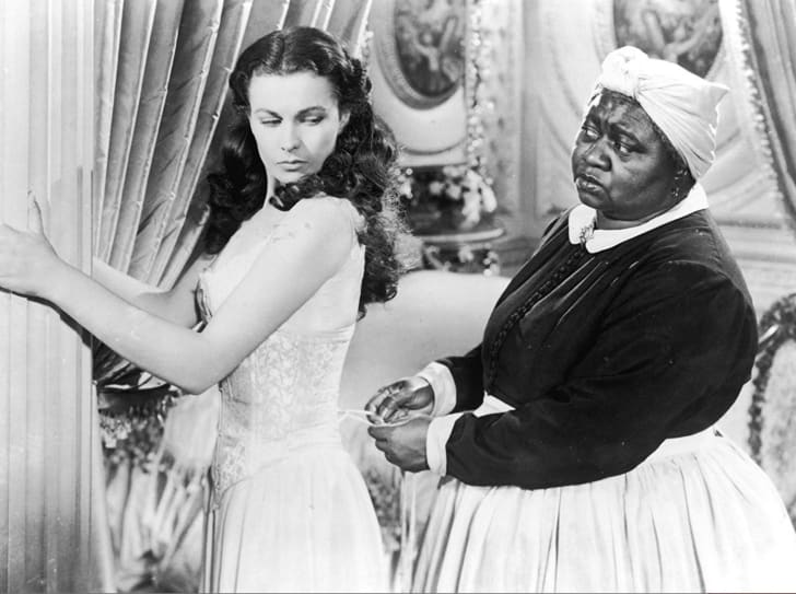 Vivien Leigh and Hattie McDaniel in Gone with the Wind (1939)