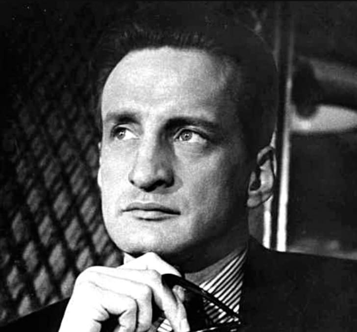 A publicity still of actor George C. Scott
