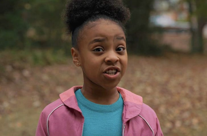 Priah Ferguson in Stranger Things