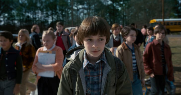 Noah Schnapp in Stranger Things