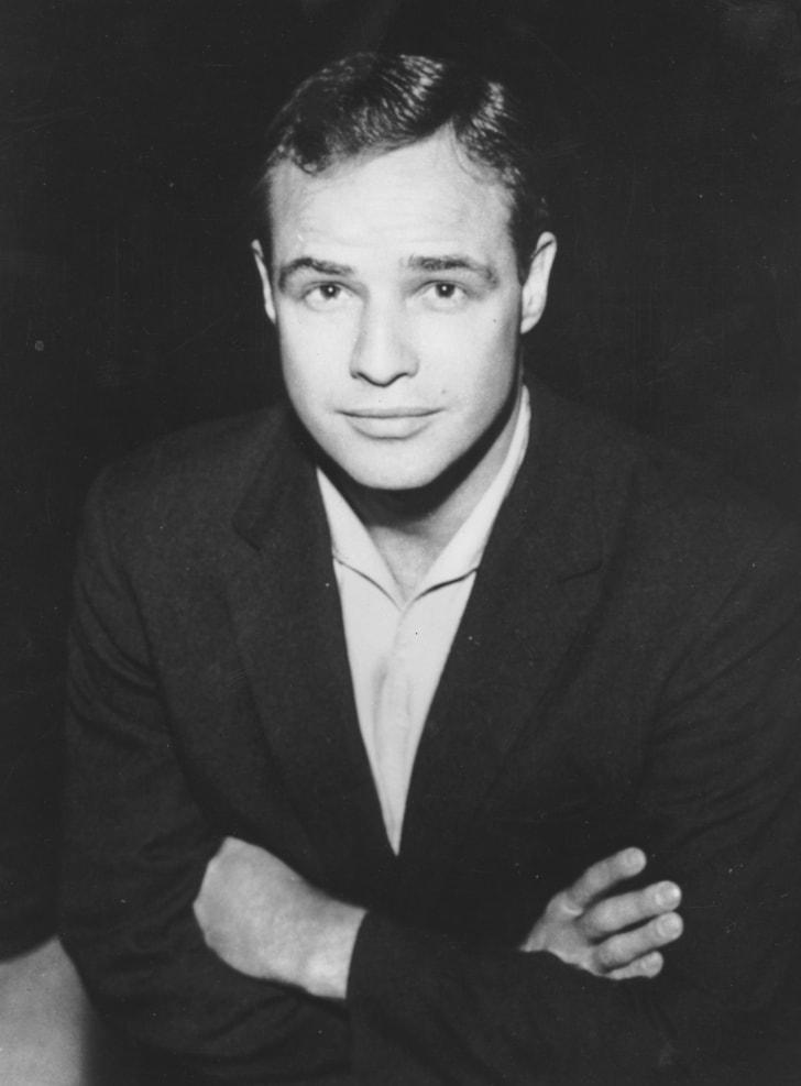 Marlon Brando in 1957.
